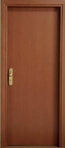 πόρτα-ξυλινη-πυραντοχη-75EI-Mod.100 Noce Tan